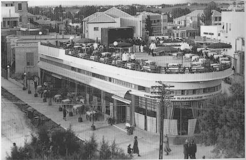 Cafe Sapphire in 1930