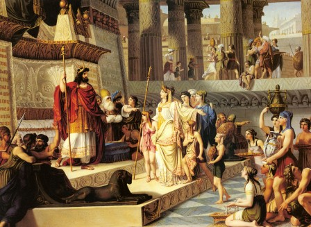 Salomon and the Queen of Sheba