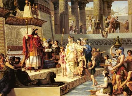 Salomon and the Queen of Sheba