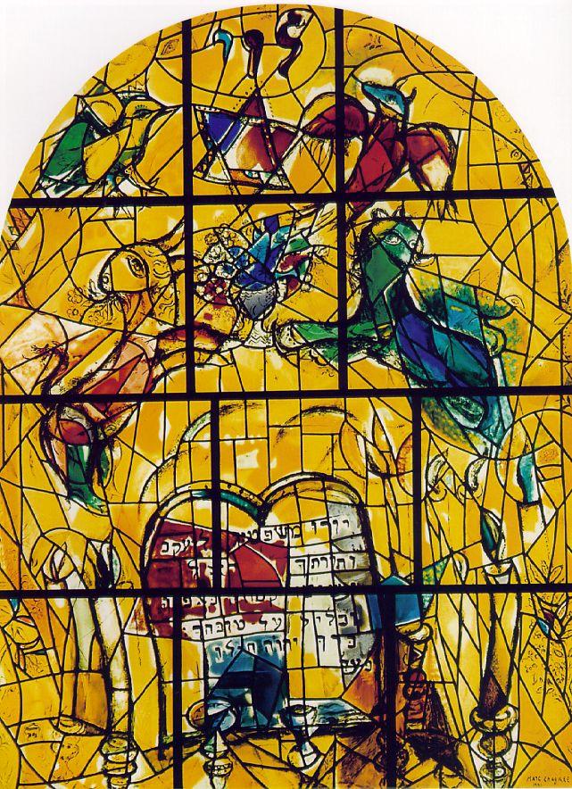 The Chagall Stained Glass windows at Ein Karem | Nicole Samuel Chagall Hadassah Windows
