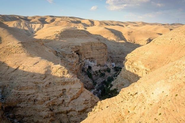 Saint George Monastery Wadi Qelt Judean Desert